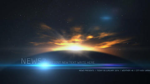 News lower third 8 After Effects Template