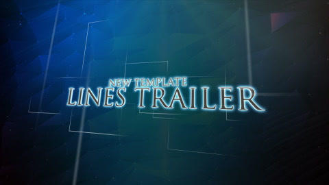 Lines Trailer After Effects Template