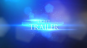 Light Trailer (Unlimited) After Effects Template