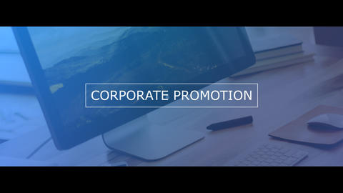 Business Presentation Slideshow After Effects Template