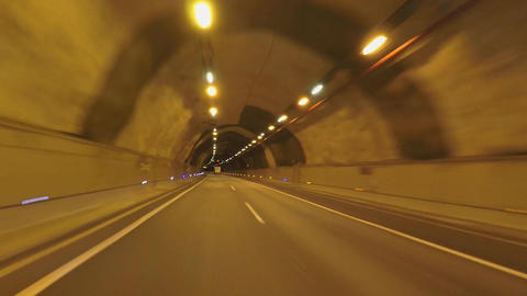 Long Tunnel Road Footage