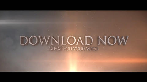 Film Trailer Unlimited After Effects Template