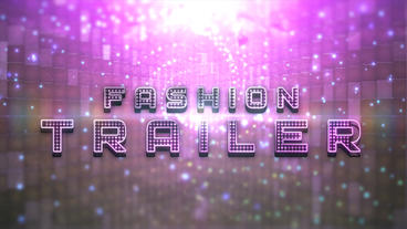 Fashion Light Trailer After Effects Template