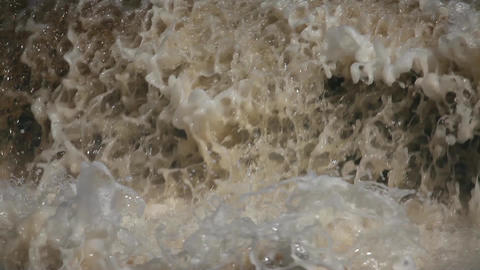 raging stream waterfall Footage