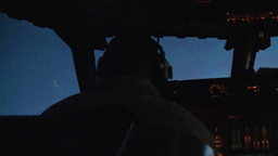 E-3 Sentry AWACS Combat Sortie Over Afghanistan Footage
