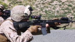 Combat Engineers Refresh combat rifle drills Footage