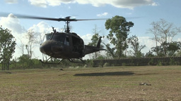Philippine and U.S. Army Soldiers conduct air assault training Footage
