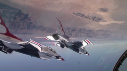 USAF Thunderbirds 60 Year Anniversary Tribute airshow Footage