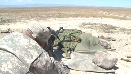 Oregon Soldiers from the 1-82 Cavalry Train on the 50 CAL and M107 Sniper Rifle Footage