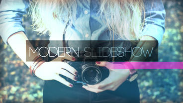 Modern Slideshow After Effects Projekt