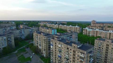 Ukraine, Krivoy Rog, District Damansiy, Fly