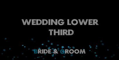 BRIDE & GROOM After Effects Template
