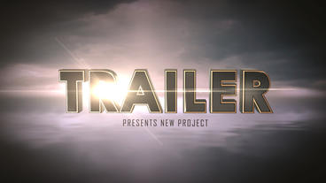Cinematic Film Trailer After Effects Template