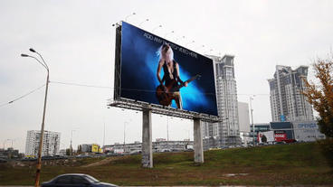 The Billboard ( 2 in 1 ) After Effects Project