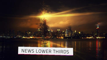 3D Lower Third V2 After Effects Project