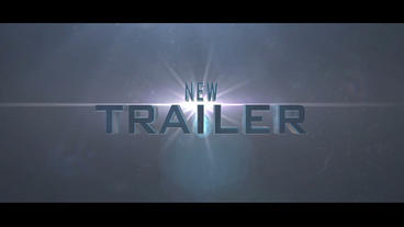 3D Film Cinematic Trailer After Effects Project