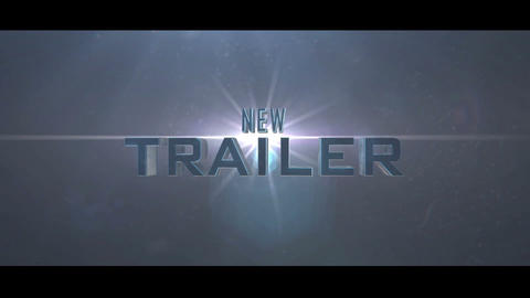 3D Film Cinematic Trailer After Effects Template