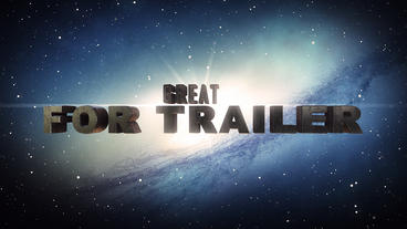 3D Cinematic Trailer (Unlimited) After Effects Template