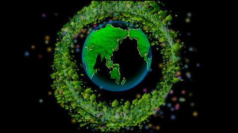 GREEN WORLD&GREEN PEACE Animation