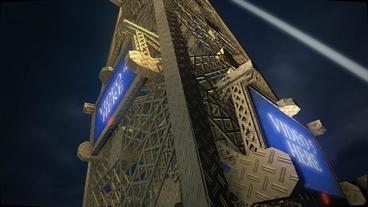 The Eiffel Tower (Paris Tour Eiffel) |Slideshow |Opener | Video Display After Effects Projekt