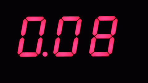 Digital Timer Countdown Time Electronic Clock Live Action