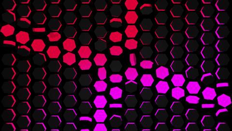 Tron Hexagonal 2 Animation