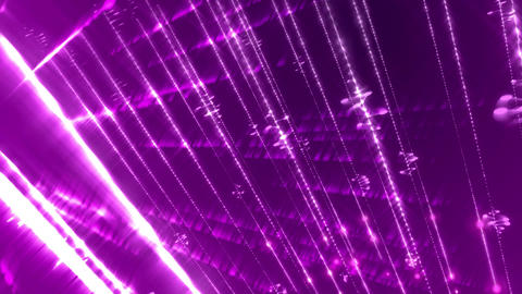 Abstract Light Violet Glitters Loopable Background Animation