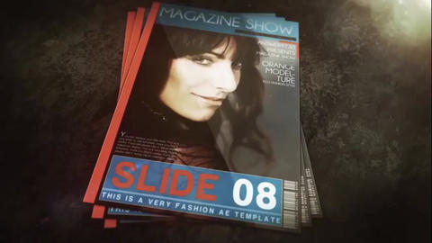 Magazine Show After Effects Template