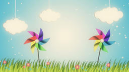Relaxing scene of unspoiled nature Animation