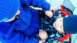 Little boys having fun Footage