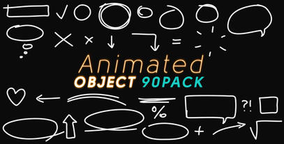 Animated Object (pack) After Effects Project
