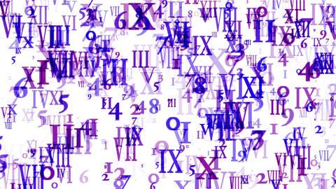4k Alphabet matrix computer number background,finance password information data Footage