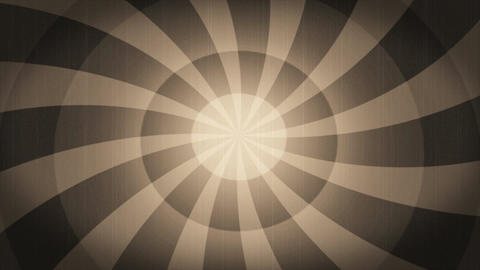Psychedelic Radial background in retro style Animation