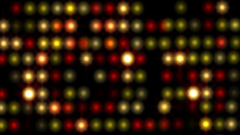 Bright twinkling lights, animation with alpha channel Animation
