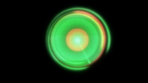 Radar, colorful animation with alpha channel loop Animation