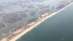 Aerial View of Long Island Filmmaterial