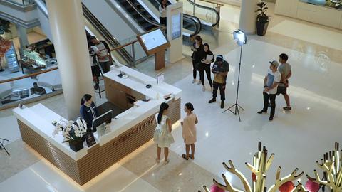Shooting a movie in Bangkok Footage