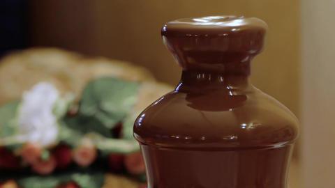 Chocolate Fountain Footage