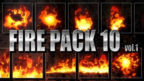 Firepack10 vol1 Footage