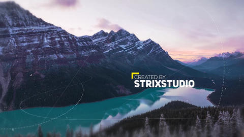 Cinamatic Slideshow After Effects Template
