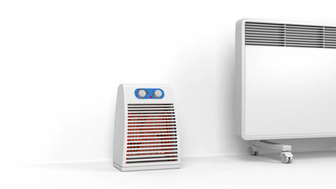 Many heating devices Animation