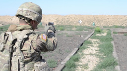 Soldiers Qualify on the M9 Pistol and MK-19 Grenade Launcher Footage