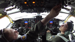 Air to Air refueling Stock Video Footage