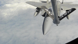 Air to Air refueling Footage