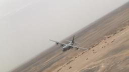 C-130 Hercules operations Stock Video Footage