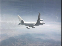 Airborne Laser Testbed Experiment, The Boeing YAL-1... Stock Video Footage