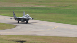 Mig 29 Fulcrum Military Fighter Jets take off and land Footage