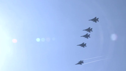 F-15 Eagle Fighter Jets Stock Video Footage