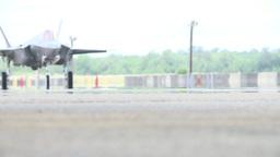 F-35 Lightning II fighter jet Stock Video Footage