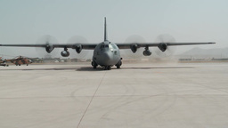 First Ever All Afghan Air Crew C-130 Hercules Flight Footage